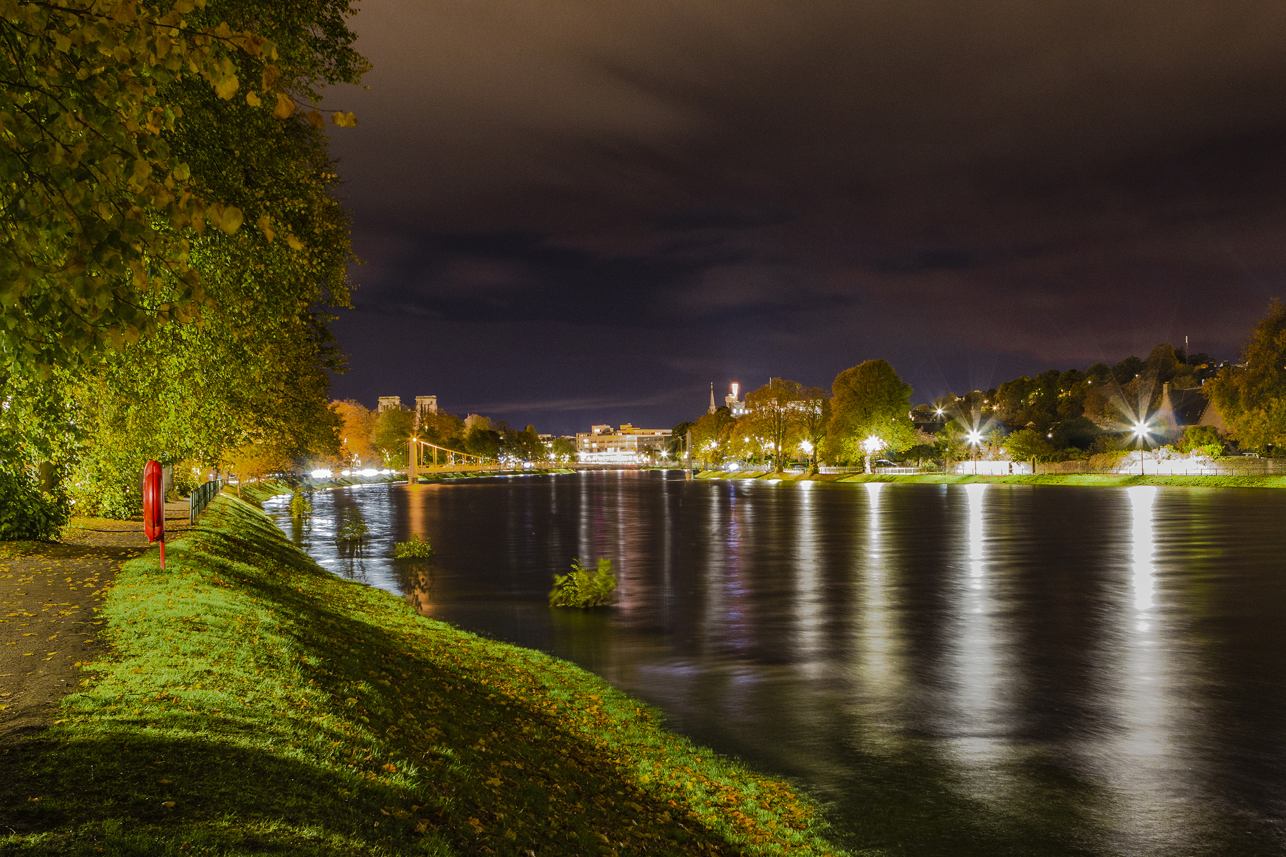 Low Light Photography Workshop, River Ness, Ness Islands, Inverness